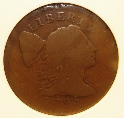 1795 American Cent